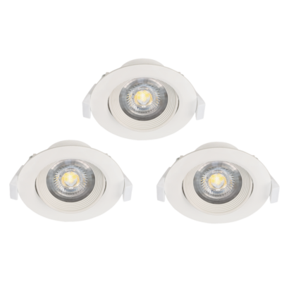 32896 EGLO SARTIANO LED süllyesztett lámpa 3 db-os szett