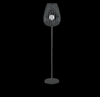 49474 EGLO NEWTOWN fekete állólámpa