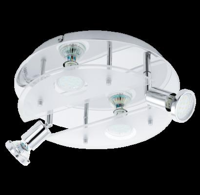 93085 EGLO CABO 1 - LED 4 égős spot lámpa