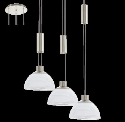 93467 EGLO MONTEFIO állítható magasságú LED függeszték
