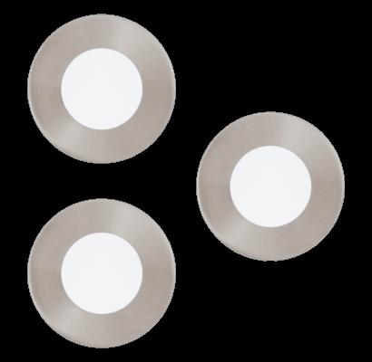 94734 EGLO FUEVA 1 - LED süllyesztett lámpa 3 db-os szett