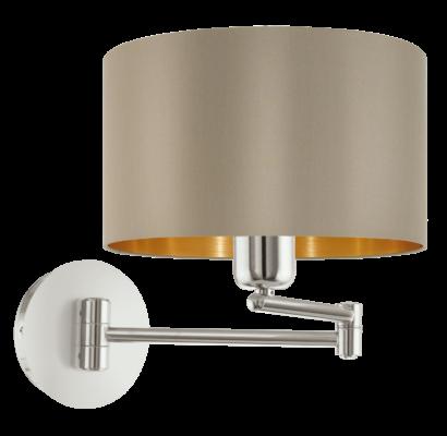 95055 EGLO MASERLO textil fali lámpa