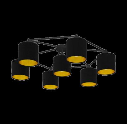 97895 EGLO STAITI textil mennyezeti lámpa