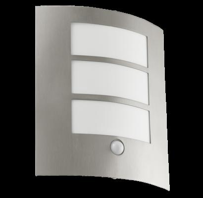 88142 EGLO CITY mozgásérzékelős kültéri fali lámpa